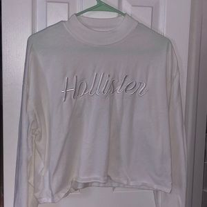 White long sleeve Hollister top